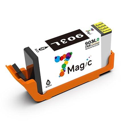 7Magic Cartucho Remanufacturado de Tinta HP 903 903XL (1 Negro ...