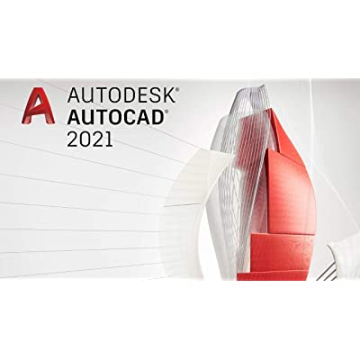 Autodesk AutoCAD 2021 | Licencia de software digital / 1 años | Windows (solo 64 bits) | Entrega urgente 24h | incl. acceso de descarga