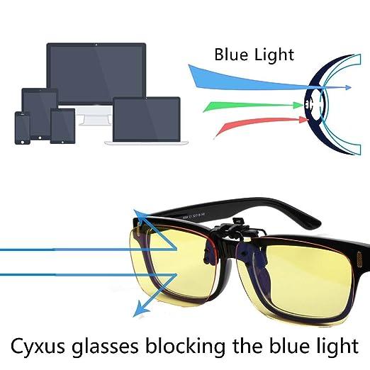 Superb Amazon.com: Cyxus Blue Light Filter (Clip On) Computer Glasses, UV Blocking  Anti Eye Strain Unisex Reading Eyewear (Standard Size): Health U0026 Personal  Care Amazing Ideas