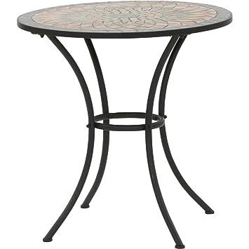 Siena Garden Tisch Prato O70x71cm Gestell Stahl