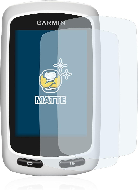 Pelicula Mate Anti-Huellas BROTECT Protector Pantalla Anti-Reflejos Compatible con Garmin GPSMAP 64 2 Unidades
