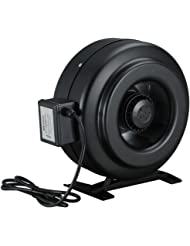 """Amico Power Fzy-10"""" Strong CFM Ventilation Inline Fan Hydroponics Exhaust Cooling Duct Fan"""