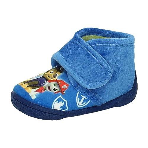 ZAPATOP 2521 Bota Patrulla Canina NIÑO Zapatillas CASA Azul 18: Amazon.es: Zapatos y complementos