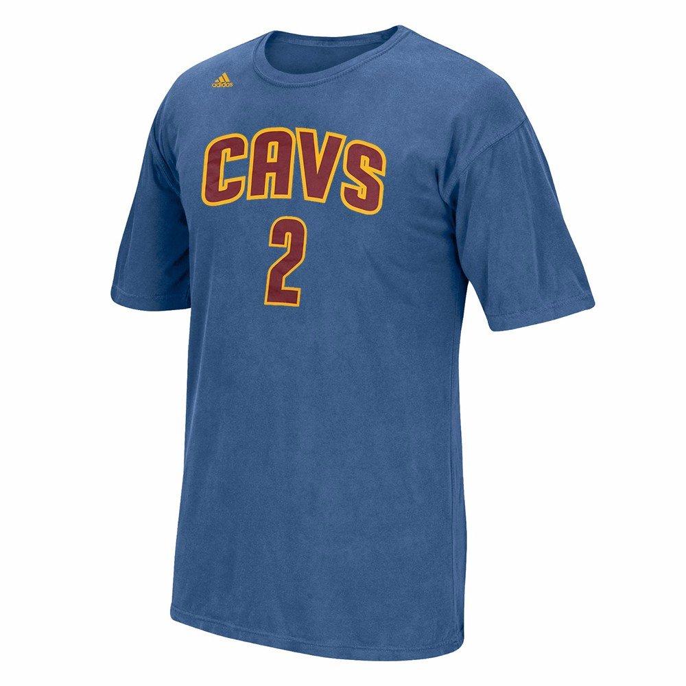 Adidas Kyrie Irving Cleveland Cavaliers NBA Hombres Azul Reproductor Nombre y número Pigmento Dye Jersey Camiseta, M, Azul: Amazon.es: Deportes y aire libre