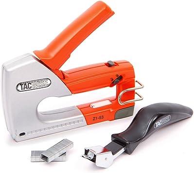1x Staple Gun Stapler Stapling Machine Kit w// 6mm Staples Craft Hobby DIY