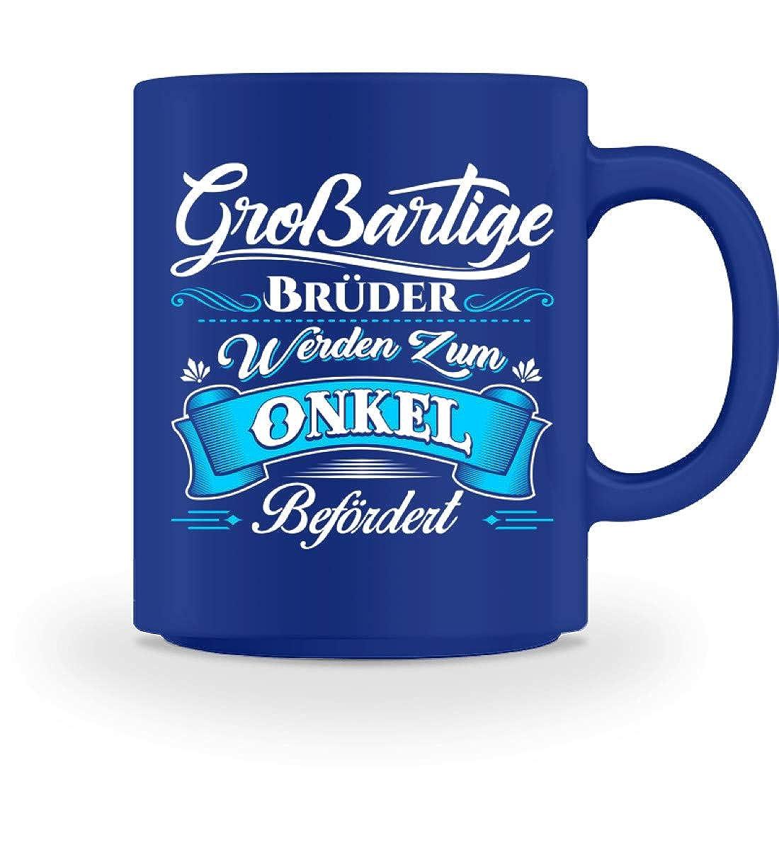 Großartiger Bruder Onkel Neffe Nichte Vetter Geschenk - Tasse -M-Rot ...
