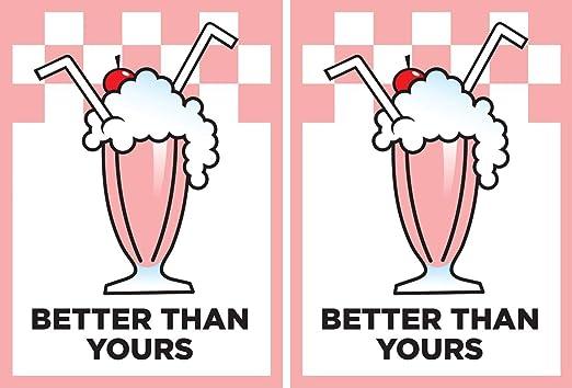 100 Deck Protectors Sleeves Milkshake Better Than Yours Legion MTG New