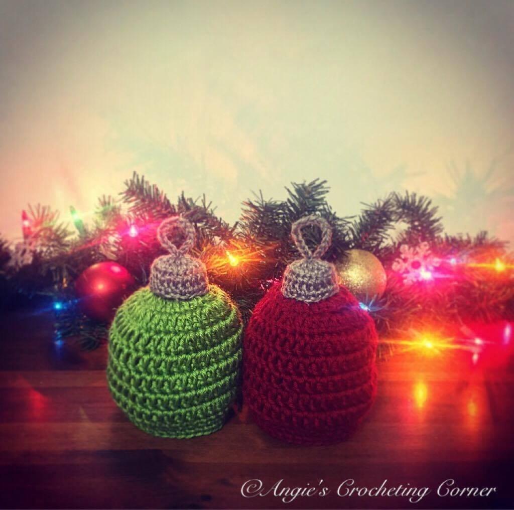 Amazon.com  Crochet Christmas Tree Ornament Hat 2ac1fcf09201