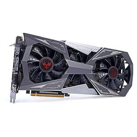 Tarjeta gráfica Video iGame NVIDIA GeForce gtx1080ti Vulcan X OC. GPU 1620 – 1733 MHz