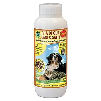 Mondo Verde REP06EP - Repelente contra gatos y perros para jardines: Amazon.es: Jardín