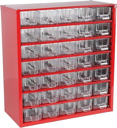 Cogex 62213 - Cajonera de herramientas (35 cajones): Amazon.es ...