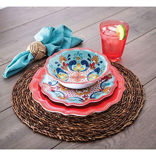 Set Dinnerware Melamine 3 Piece - 18 Piece Melamine Dinnerware Set Red