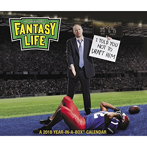 2018 Fantasy Life: Matthew Berry Calendar (Year-In-A-Box)
