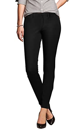 2LUV Women's Tapered Formal Yoga Uniform Dress Pants at Amazon ...