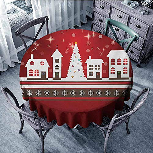 Christmas,for Round Tables D 36