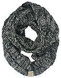 SK-6847-816.21 Kids Infinity Scarf - 4 Tone Grey/Black #31