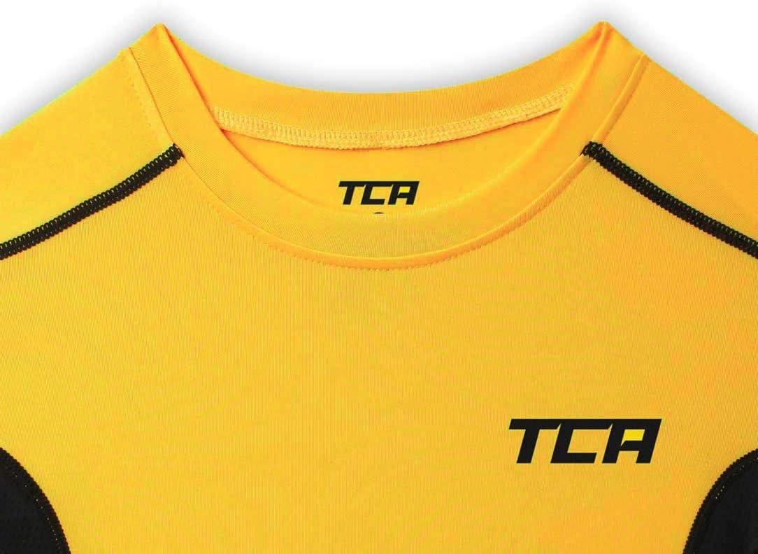 TCA Hyperfusion Hombre Camiseta Interior Da Manga Larga con Capa Superior Da Compresi/ón