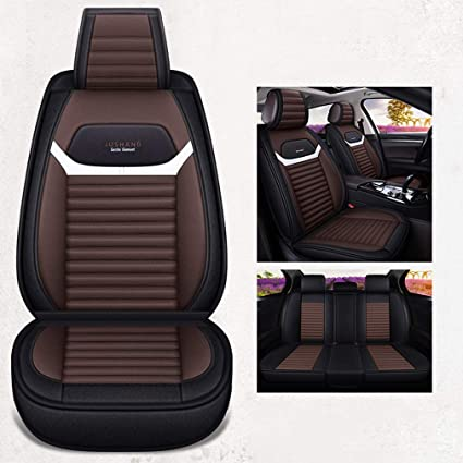 Amazon.com: YUYE - Fundas de asiento de coche de lino/lino ...