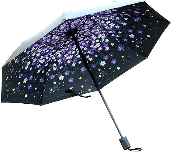 ZhiGe Foldable Umbrella,125cm Folding Umbrella Men Women Large Rain Umbrellas Pongee Windproof Big Parasol Male
