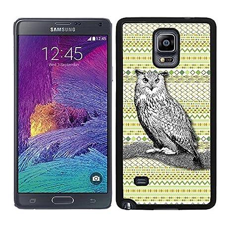 Funda carcasa para Samsung Galaxy Note 4 diseño ilustración ...