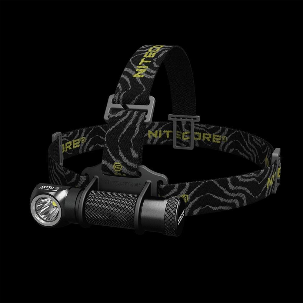 Nitecore HC30 Led Headlamp Cree XM-L2 U2 1000 Lumens Wide-beam Headlight Support Nitecore NL183 18650 2300 Battery