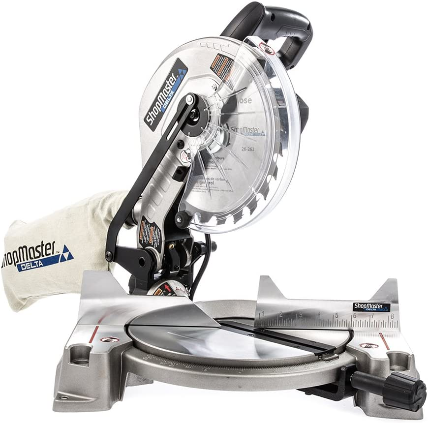 4. DeltaS26-262L Shopmaster 10-in. Miter Saw with Laser