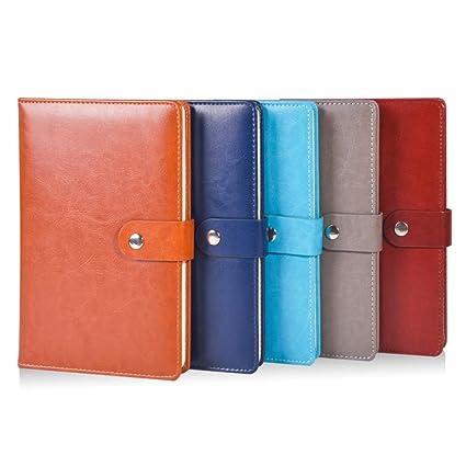 LIUCHEN@ CuadernoA5 cuaderno de cuero agenda bloc de notas ...