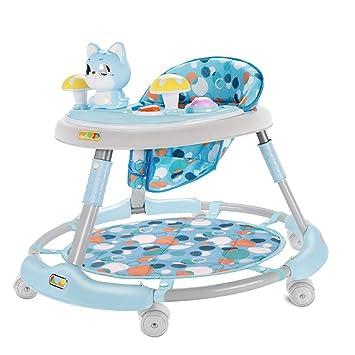 Baby Walkers Andadores para bebés, 6-18 Meses El antivuelco Plegable ...