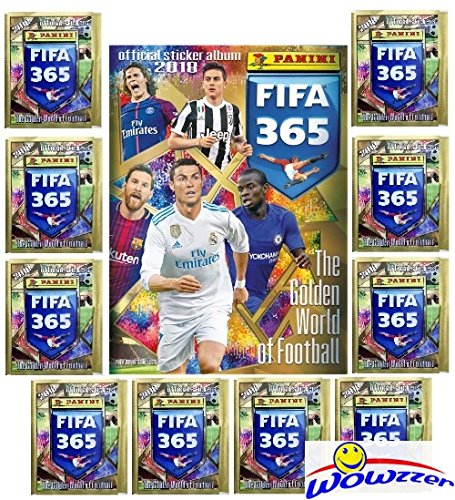 2018 Panini FIFA 365 Stickers Special Collectors Package wit