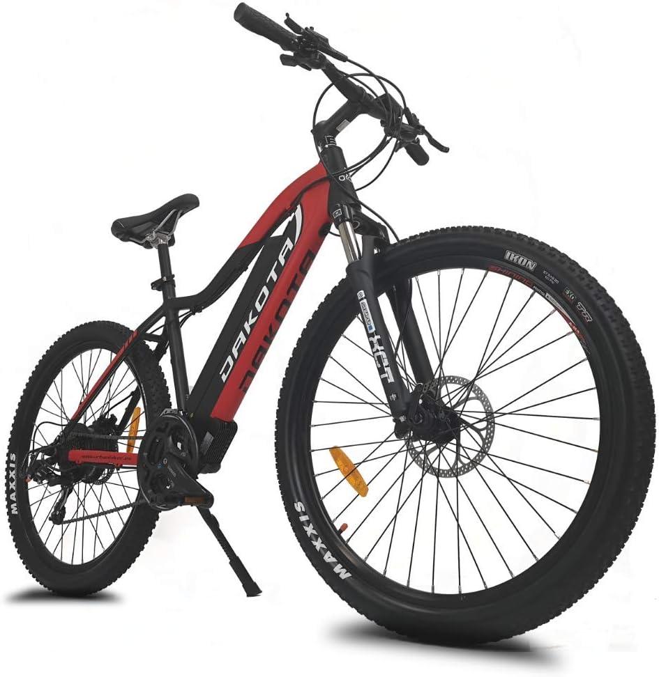 motor 350 W 840 Wh Frenos hidr/áulicos Shimano... bater/ía de litio Samsung 48 V 17,5 Ah Bicicleta el/éctrica de monta/ña Dakota URBANBIKER