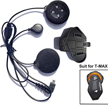 FreedConn Microphone Headphone Soft Cable Headset & Clip