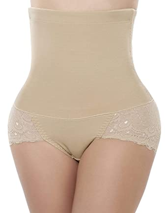 b04414142 FUT Women Body Shaper Control Tummy Slim Corset High Waist Lace Shapewear  Underwear