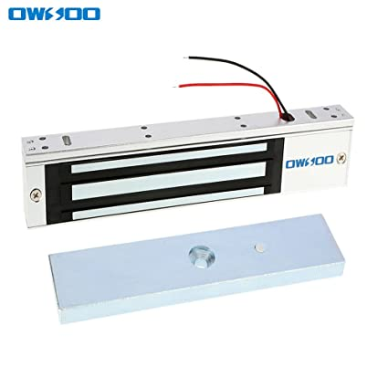 OWSOO 280KG 600lbs Holding Force Electric Magnetic Lock For Door Access Control System Electromagnet Fail-  sc 1 st  Amazon.com & Amazon.com: OWSOO 280KG 600lbs Holding Force Electric Magnetic Lock ...