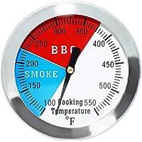 GFTIME 7,6cmTermómetros para Barbacoas y Ahumadores BBQ Termómetro