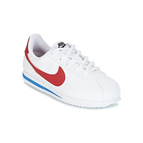 online store 13974 e14e7 Nike Cortez Basic SL (PS) Scarpe da Trail Running Bambino, Bianco (White