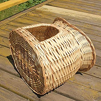 Camada de mimbre de ratán casa de verano casa de perro peque?o Perrera de peluche mascotas pet nest mat estaciones extraíbles y lavables: Amazon.es: ...