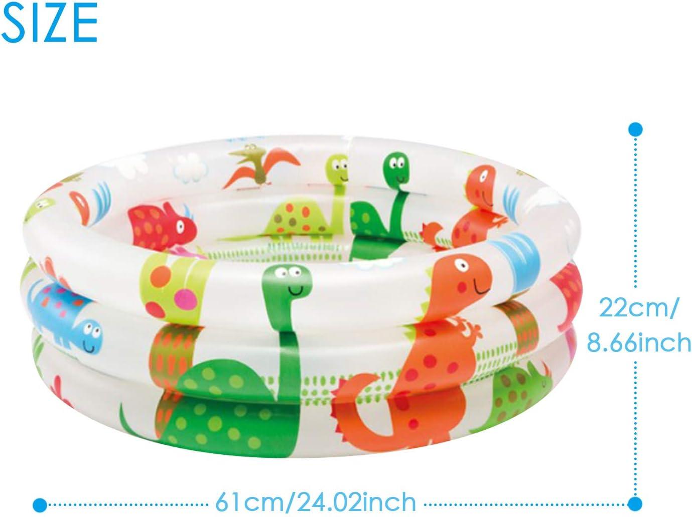 Piscina Hinchable, Bonita caricatura 3 anillos inflable piscina ...