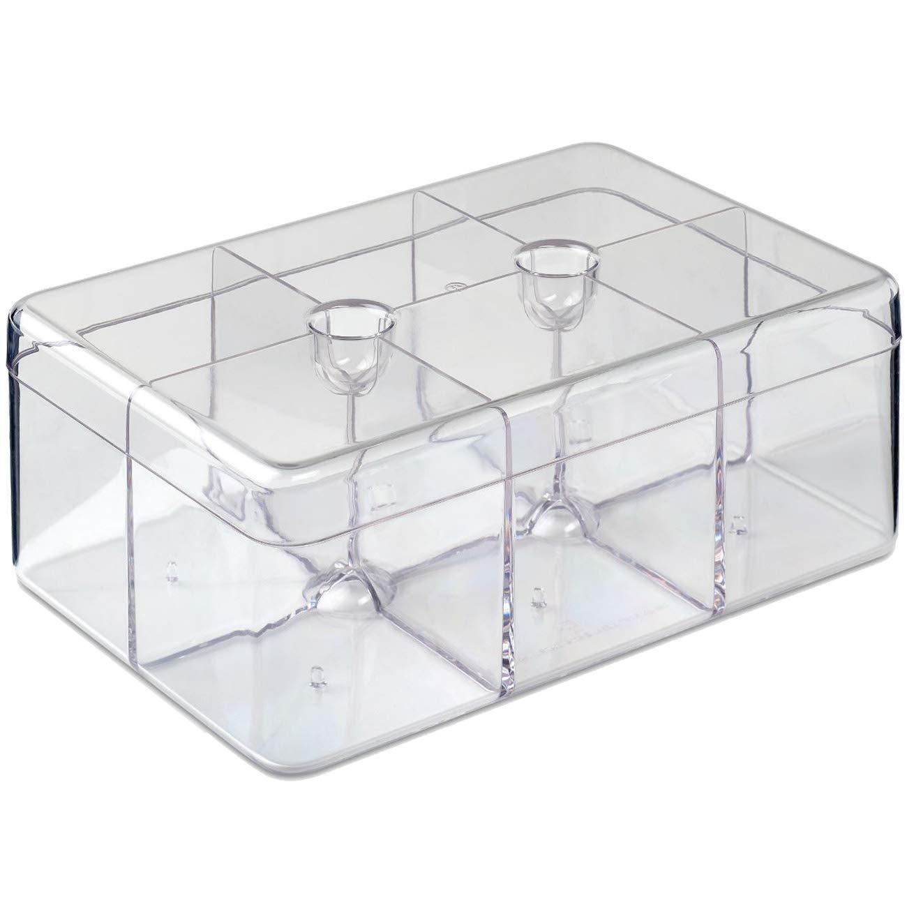 Rosti Mepal 106815053100 Tea Box, Transparent