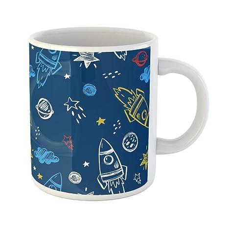 Amazon.com: Semtomn divertida taza de café arco flechas arco ...