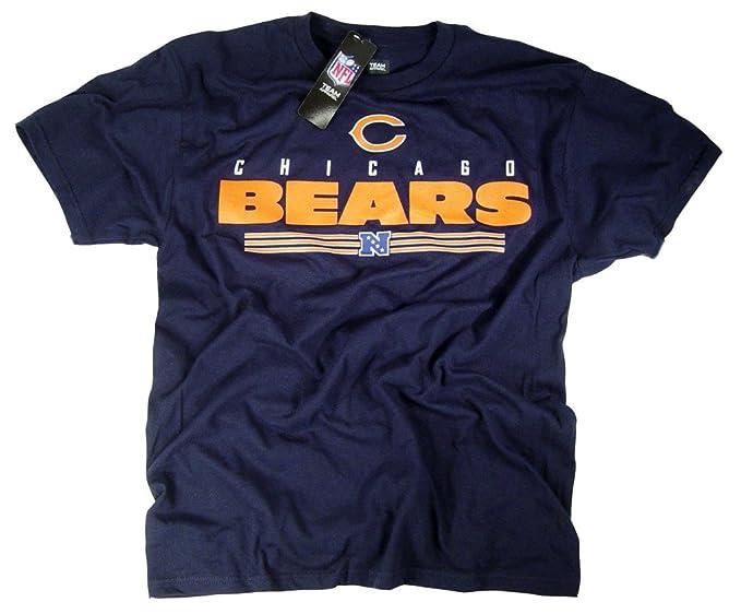 Chicago Bears Camiseta Ropa Prendas de Vestir Logo del Equipo NFL con Licencia Oficial de la