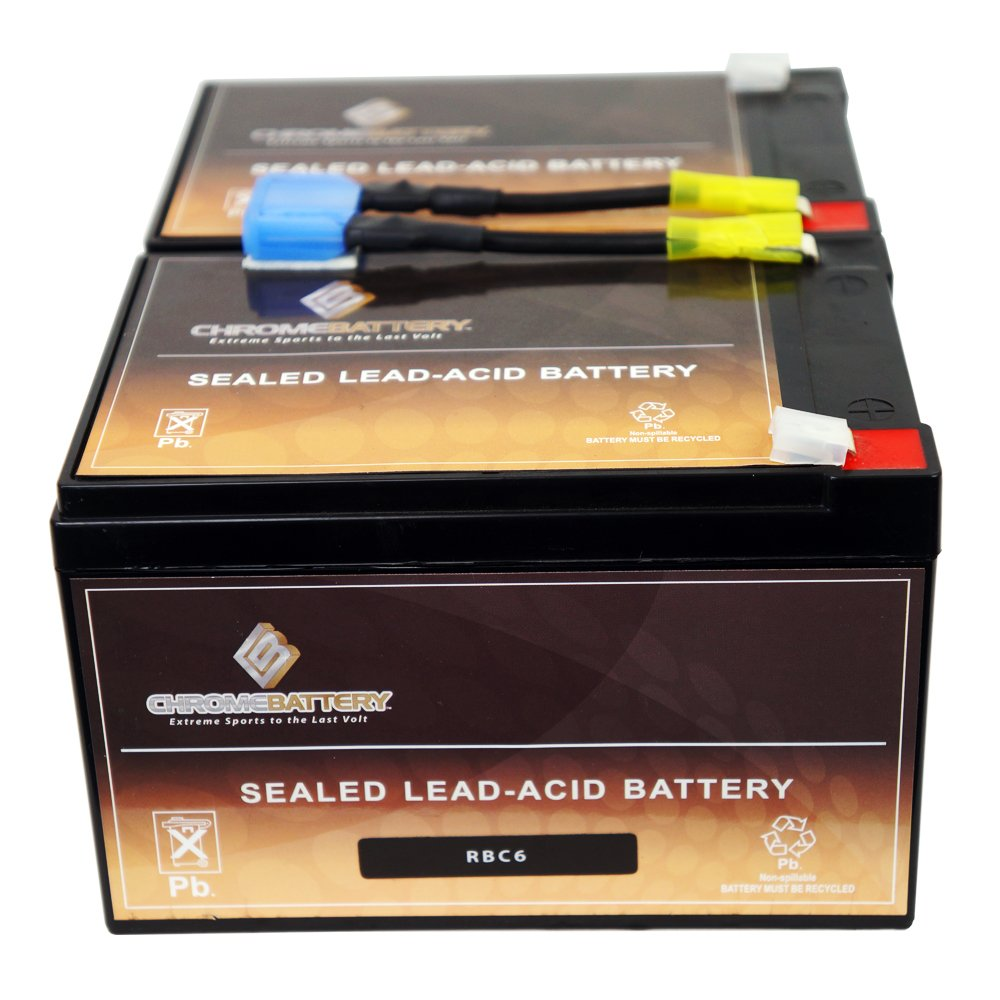 RBC6 UPS Computer Power Backup System Complete Replacement Battery Kit