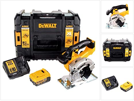 DeWalt DCS 373 M1 batería metal sierra circular 18 V Li-Ion ...