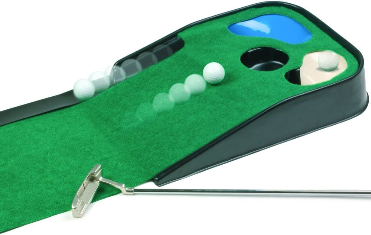 JEF World Of Golf Hazard Deluxe Putting Mat
