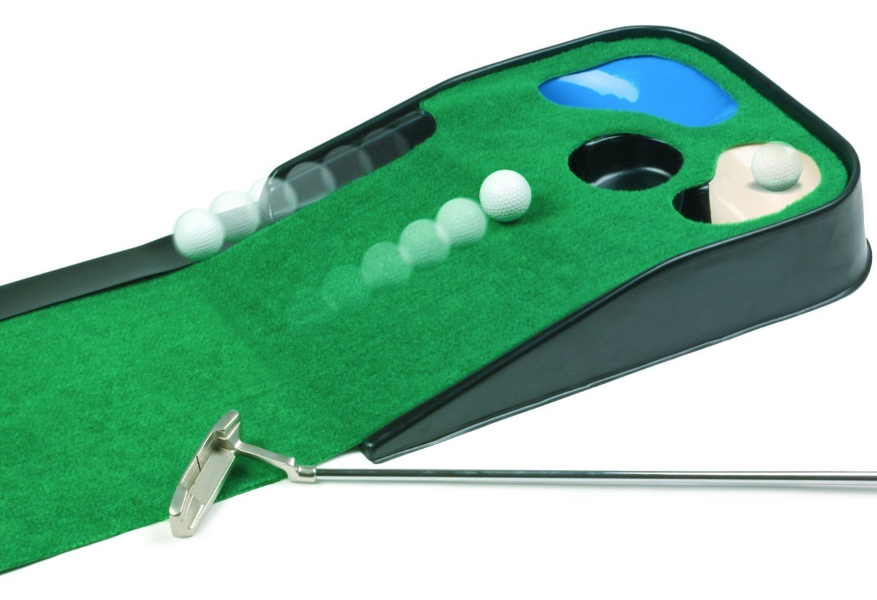 JEF World Of Golf Hazard Deluxe Putting Mat by JEF WORLD OF GOLF