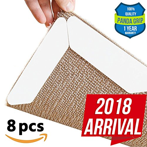 Rug grippers Carpet tapes Anti Slip rug pads PREMIUM Rug pad Area rug carpet gripper NEW Anti curling tapes Exclusive All floor rug and carpet gripper ECO-friendly and reusable area rug grippers