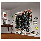 Zombie Scene Setter Wall Decorating Kit (Each) - Party Supplies