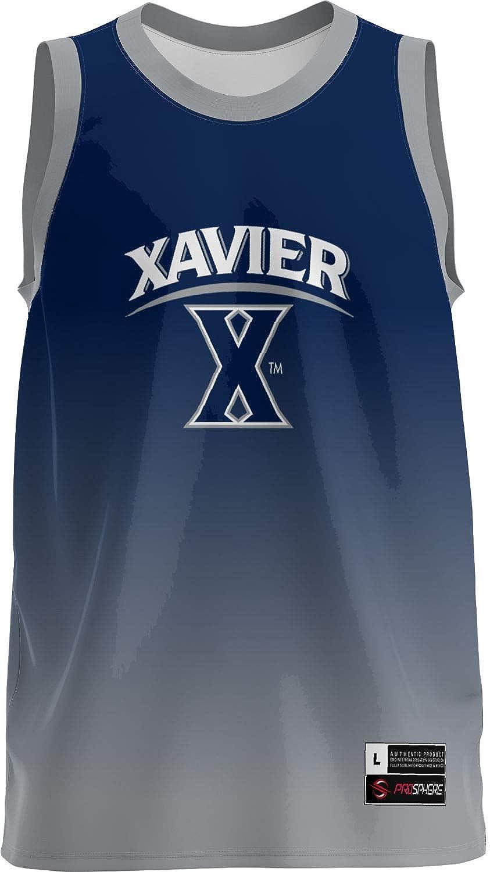 6e7ed68c11c Amazon.com: ProSphere Xavier University Men's Replica Basketball Jersey -  Ombre: Clothing