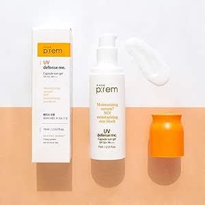 MAKEP:REM UV Defense Me Capsule Sun Gel - Sunscreen SPF 50+ PA+++ 75ml / 2.53 fl. oz.