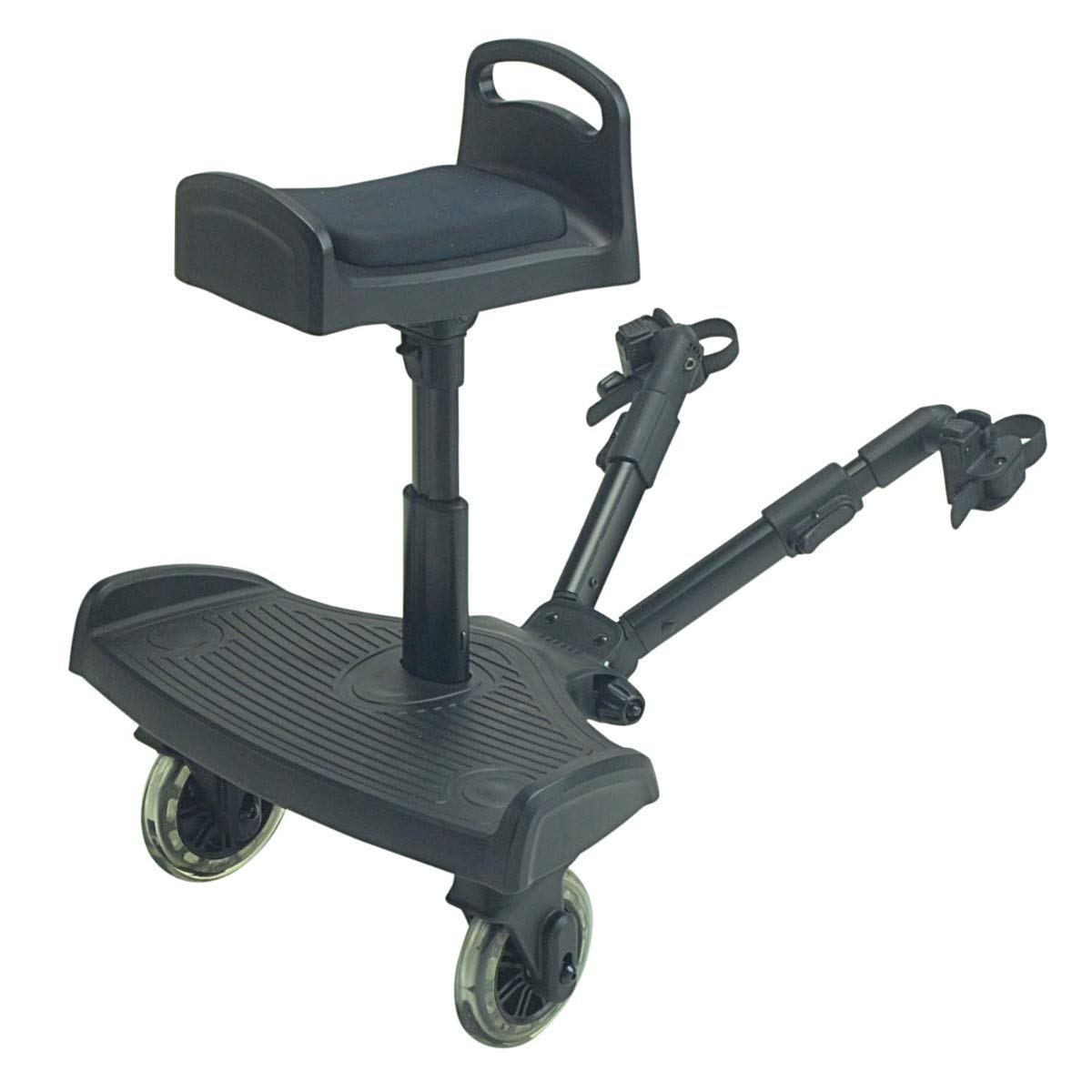 FYLORide On Board with Saddle Compatible with Baby Jogger City Mini GT Black