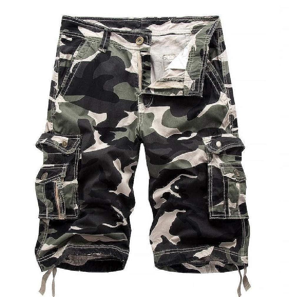 SportsX Mens Premium Beach Board Shorts Bechwear Multi Pockets Shorts